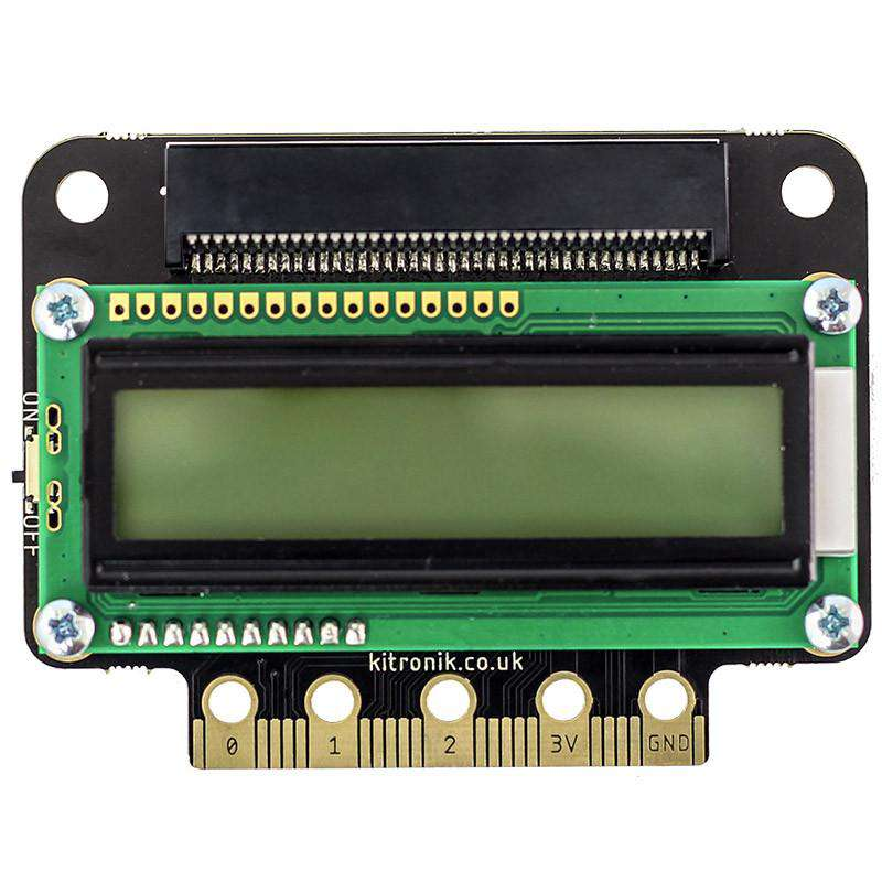 :VIEW Text32 LCD Screen