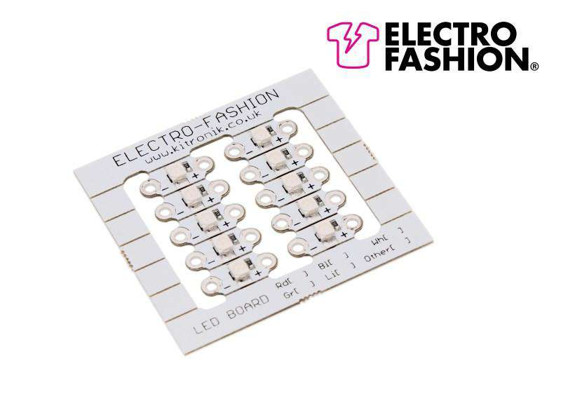 Sewable LED's - Lilac 10 Pack