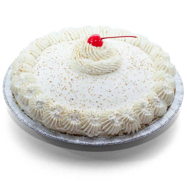 Eggnog & Vanilla Cookie Crust Pie by Rewhipped Utah