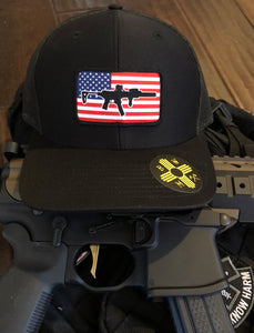 Subgun Flag Patch SnapBack