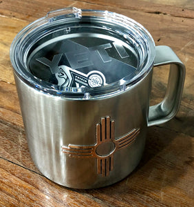 14oz Yeti Coffee Mug with Copper Zia