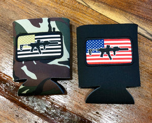 Pick your patch Koozie