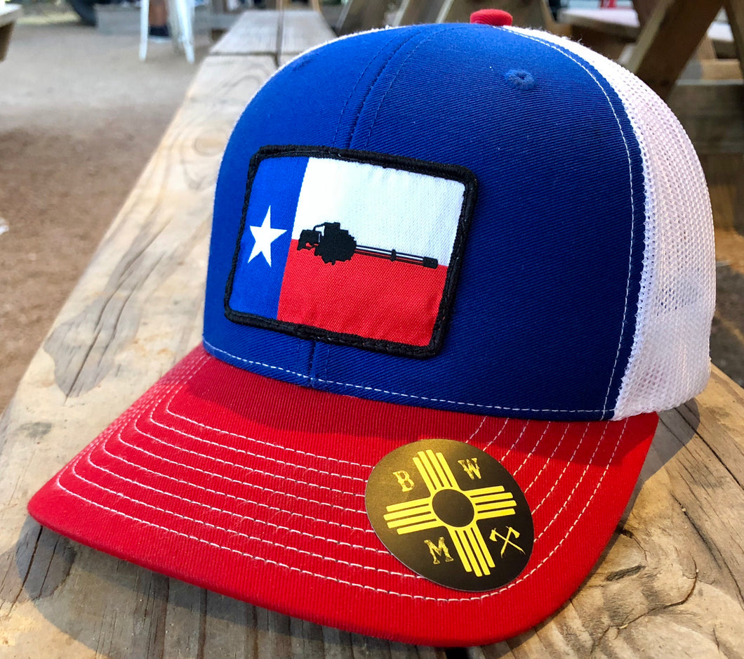 Minigun Texas Red/White/Blue
