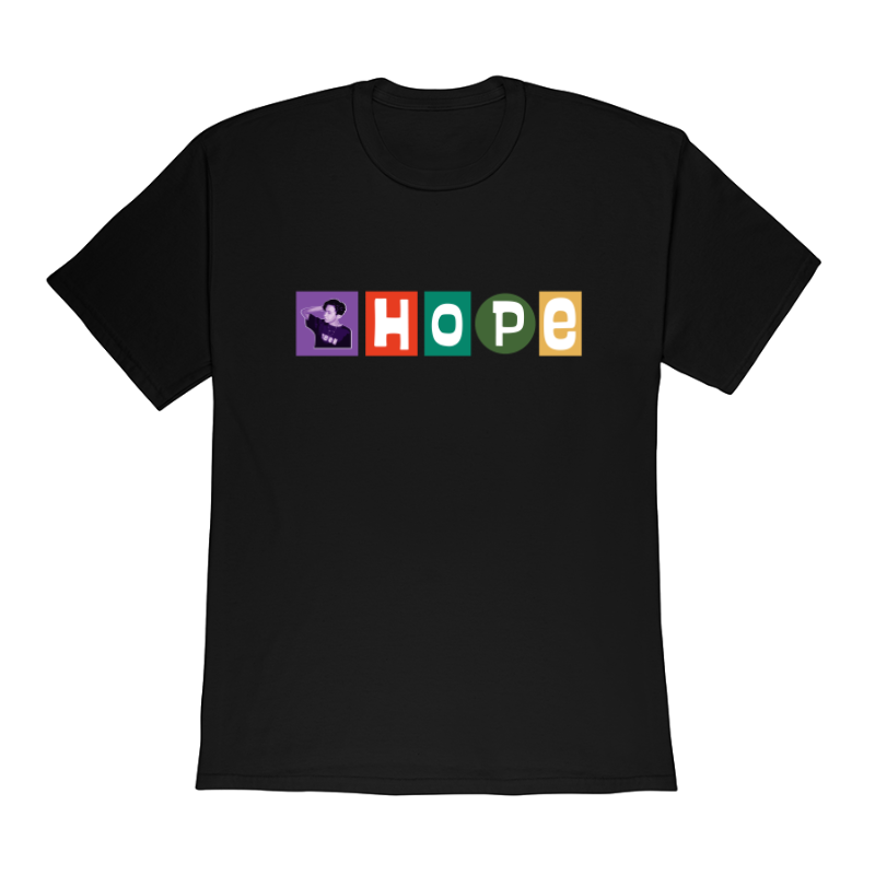 "J-Hope ""Obey"" Style Short-Sleeve Profile Unisex Tee"
