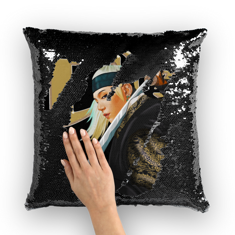 Daechwita Sequins Cushion Cover
