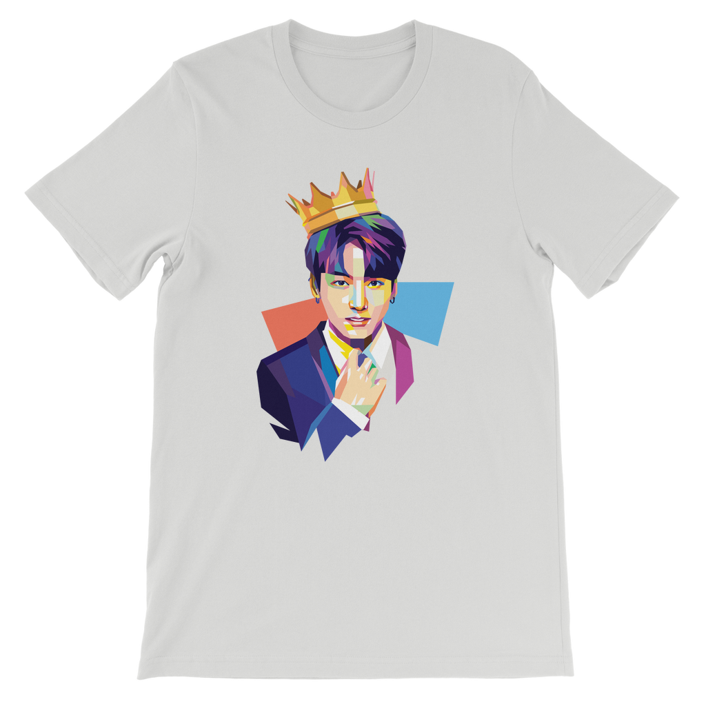 Jungkook Golden Maknae Premium 100% cotton Kids T-Shirt