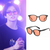 Jungkook-style pink lens sunglasses