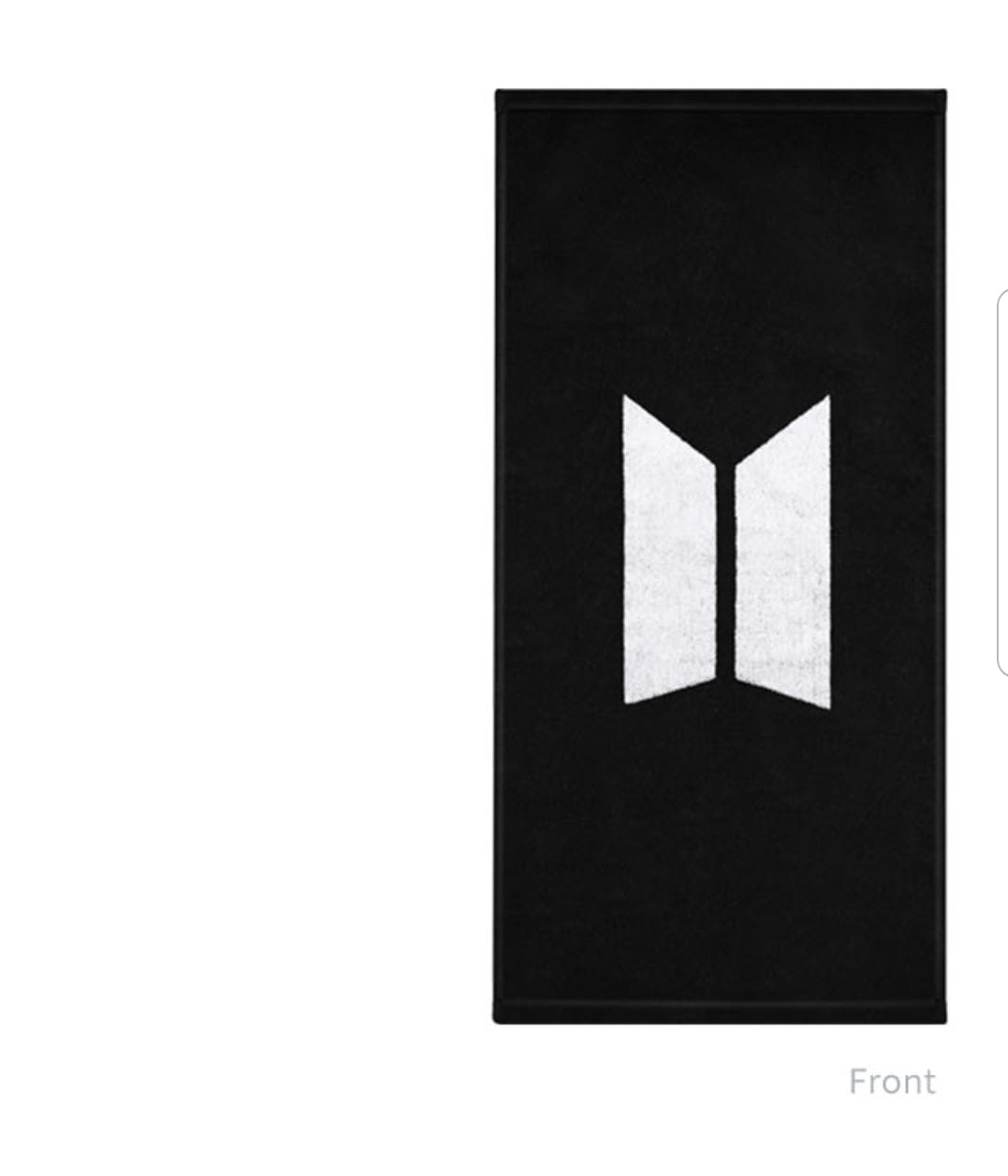 Official BTS towel + protective case