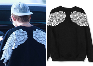 "BTS V Taehyung ""Wings"" Sweatshirt"