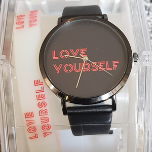 "BTS ""Love Yourself"" Army Watch and bracelet"
