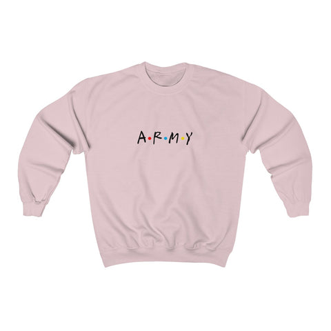 "ARMY ""Friends"" Style Sweatshirt"