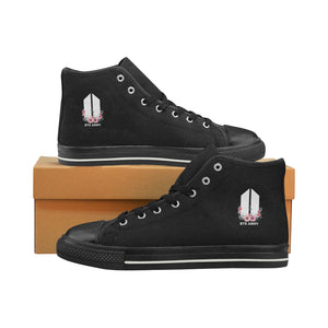 Army Roses High Top Trainers