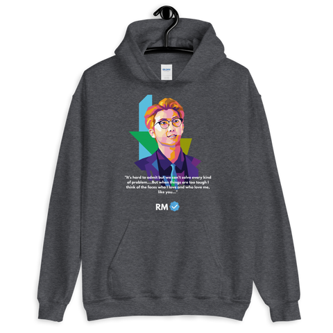 RM Healing Quotes - Stay strong  Unisex Hoodie