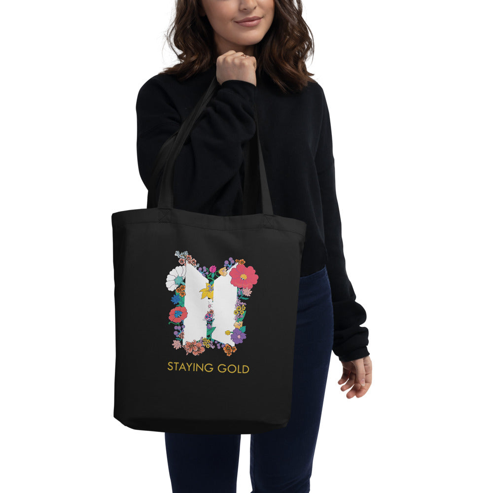 BTS Staying Gold Eco Tote Bag