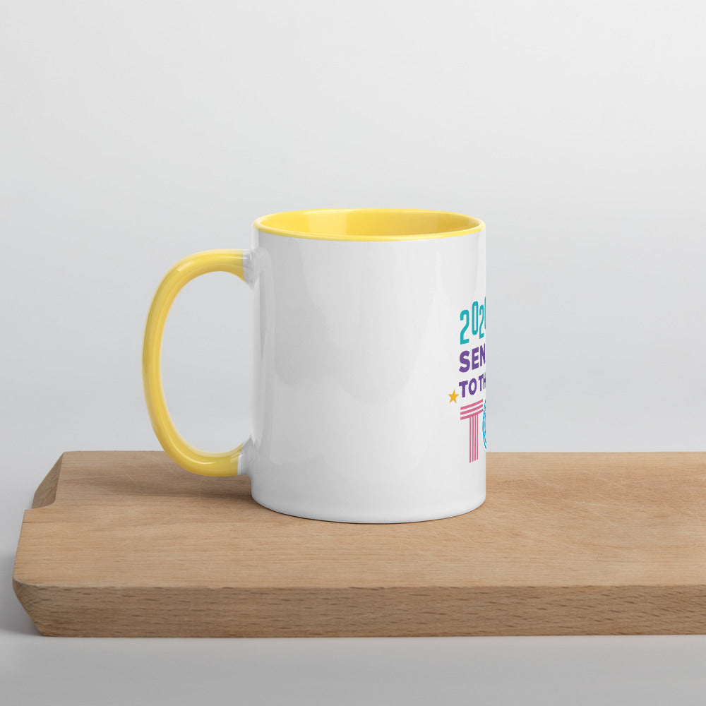 Army 2020 Mug with Yellow Inside