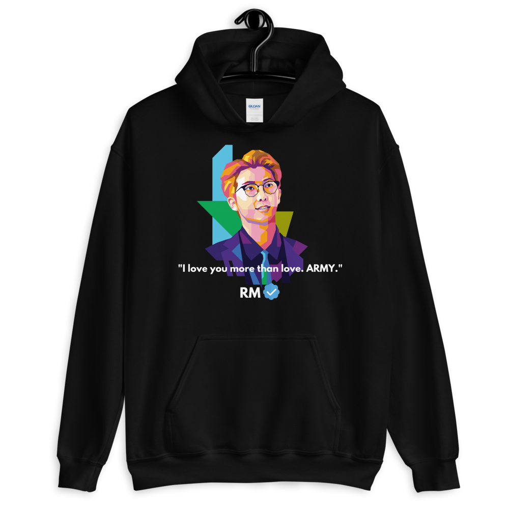 RM Healing quotes - Love Unisex Hoodie