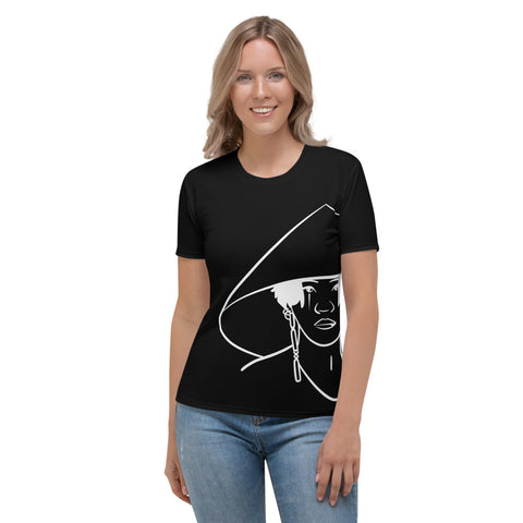 Daechwita Black Line Women's T-shirt