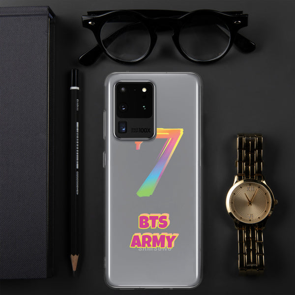 "BTS Army ""7"" Phone Case for Samsung"