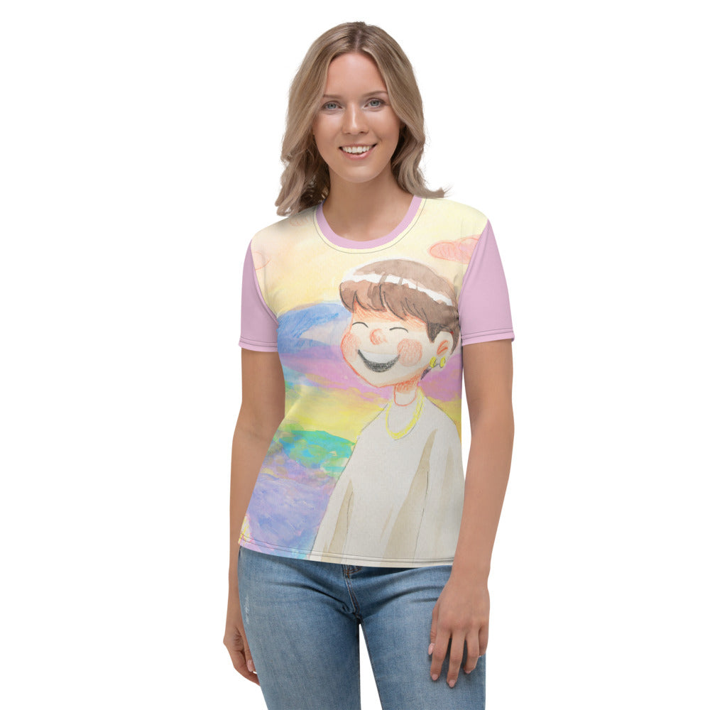 Suga StayGold Cartoon Women's T-shirt