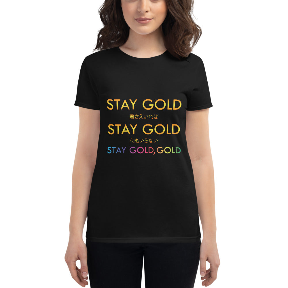 BTS Stay Gold Women's short sleeve t-shirt