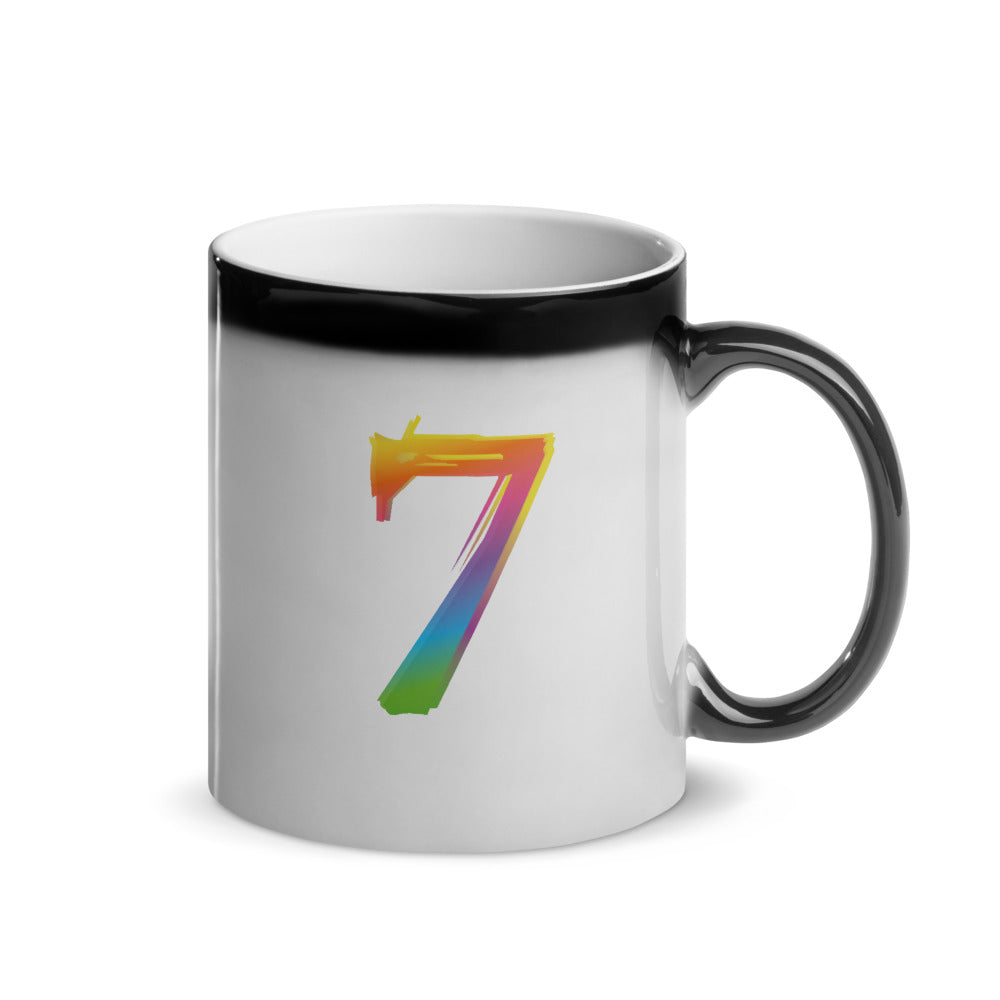 "BTS Army ""7"" Glossy Magic Mug"