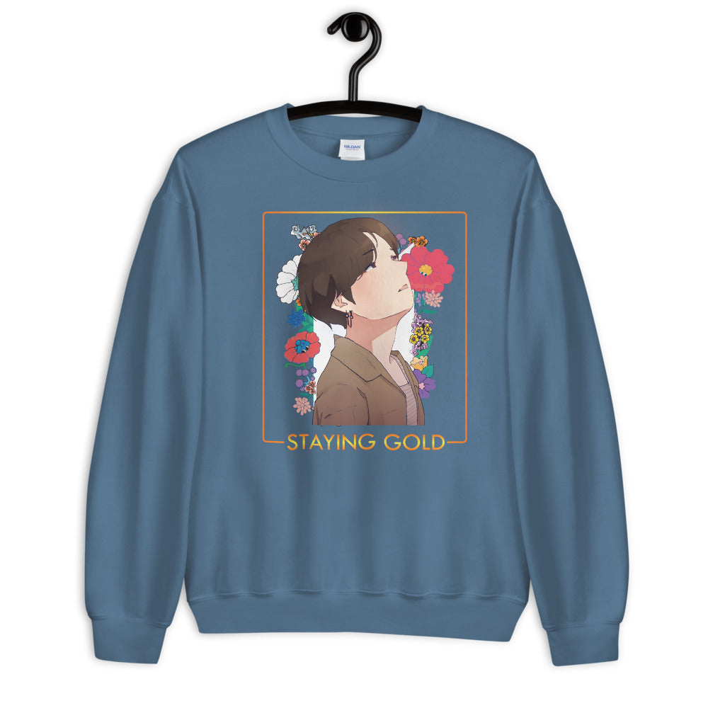 Jungkook Staying Gold BTS Unisex Sweatshirt