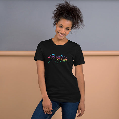 Straykids Rainbow Short-Sleeve Unisex T-Shirt