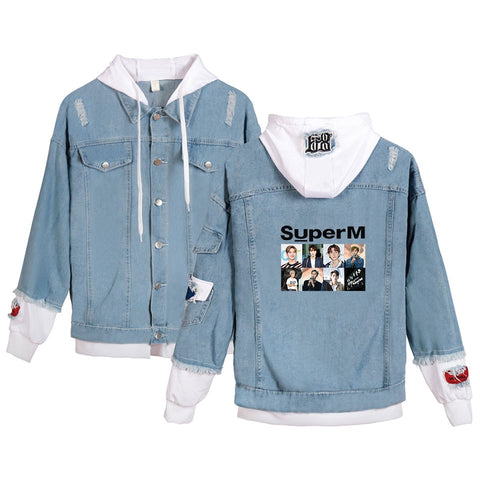 SuperM Denim Jean Jacket