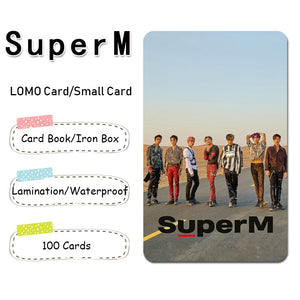 SuperM Lomo Card Photo Card photocards