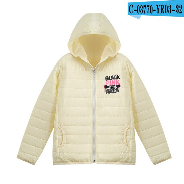 "Blackpink ""In Your Area"" Puffer Jacket"