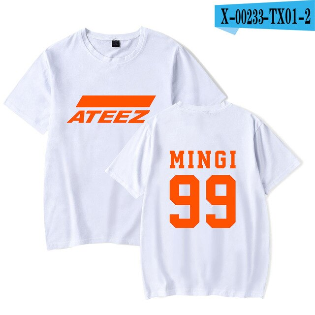 Ateez Orange Member T-shirt