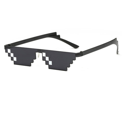 Funny Black Pixelated Sunglasses as worn by Jungkook and RM