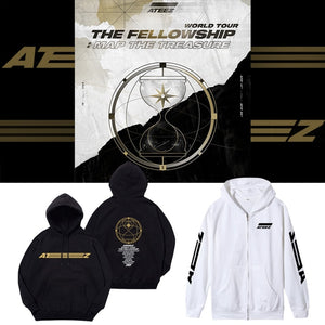 ATEEZ The Fellowship Map Unisex Hoodie