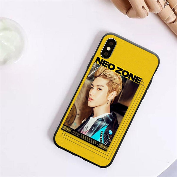 NCT 127 Neo Zone Warning Phone case for iPhones