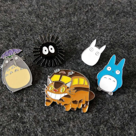 Cute Harajuku Animal Pin Badges