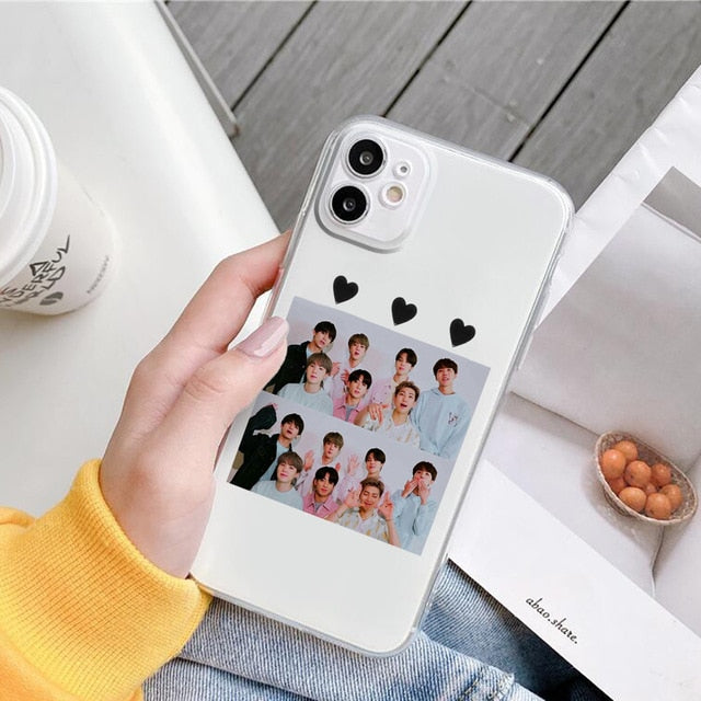 BTS Dynamite Soft Phone Case for iPhones