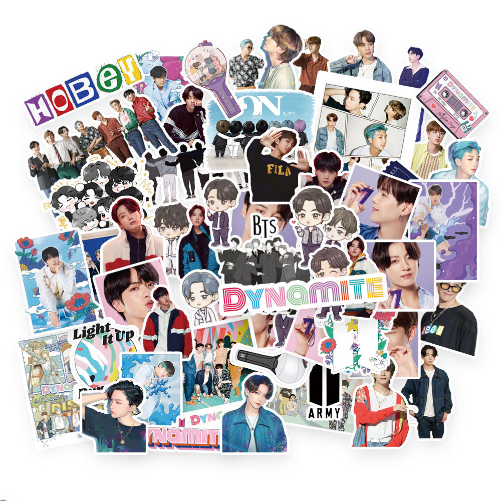 77PCS/SET KPOP BTS Dynamite Stickers