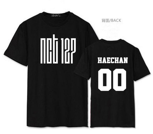 Black/White NCT U Member T-shirt