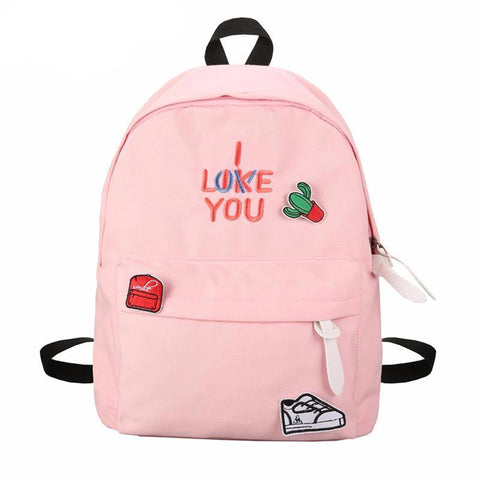 I Like/Love You Korean-Style Bag