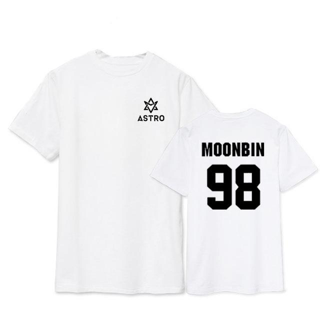 Astro Moonbin Tee Black