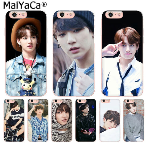BTS Jungkook iPhone Case