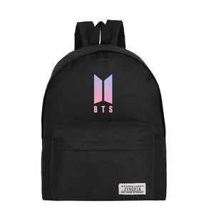 Kpop backpack new BTS Logo - Various colours