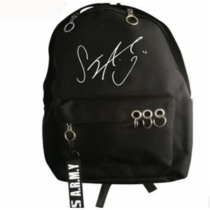 BTS Signature Backpack with free tag