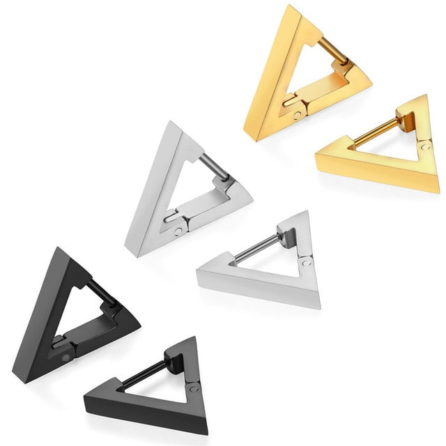 Triangle K-pop style earrings
