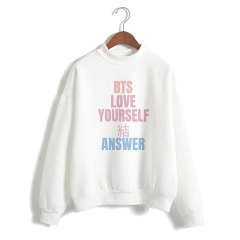 "BTS Love Yourself ""Answer"" Multicolor Sweatshirt"