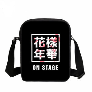 "BTS ""On Stage"" Hangul Messenger Bag"