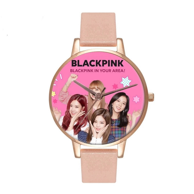 "Blackpink ""In your area"" Quartz Watch"