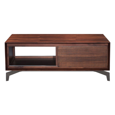 Zuo Modern Perth Coffee Table Chestnut 100590 West Dwelling Furniture