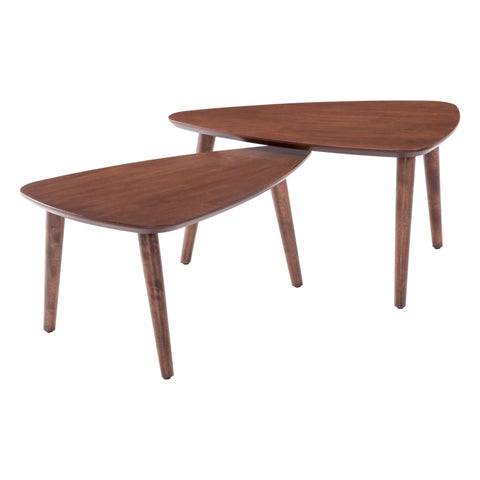 Zuo Modern Koah Nesting Coffee Tables 100671 West Dwelling Furniture