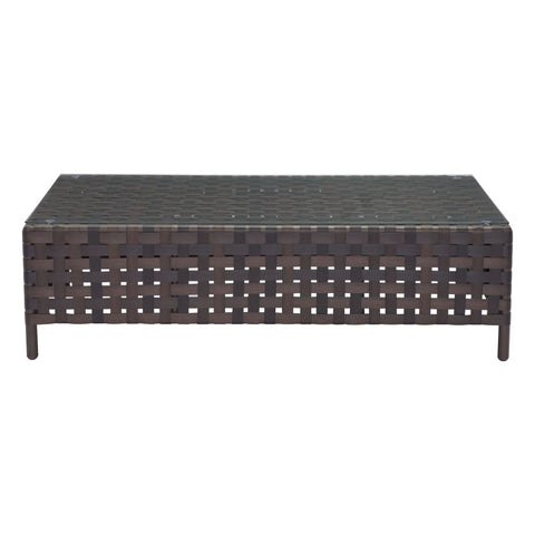 Zuo Modern Pinery Coffee Table Brown 703793 West Dwelling Furniture